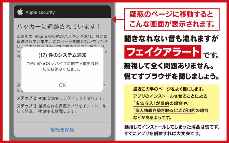 画像無断使用サイトにアクセスすると表示される画面について